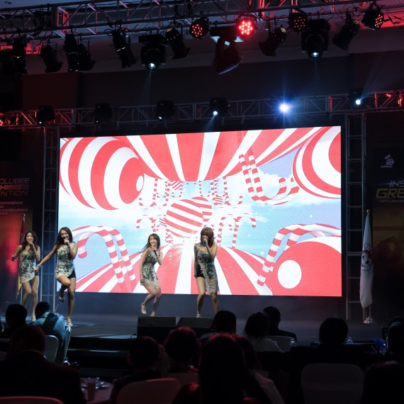 2014 Jollibee Franchisees Convention & SISTAR 공연 3